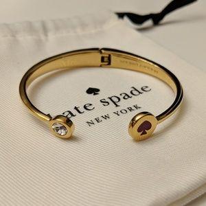 *NEW*♠️ Kate Spade 12k gold plated bracelet